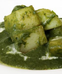 Saag Alu Spinach Potato Indian Takeaway Newcastle Gateshead